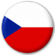 Czech Republic Country Flag 25mm Pin Button Badge